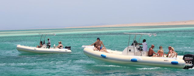 Bullet 5 and Bullet 6 Speed boats in Hurghada