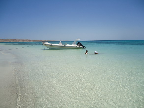 Speed boat hire in Hurghada