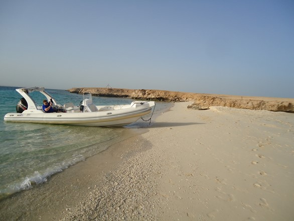 Rent your private speedboat in Hurghada