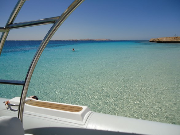 explore the beauty of nature in Hurghada by speed boat