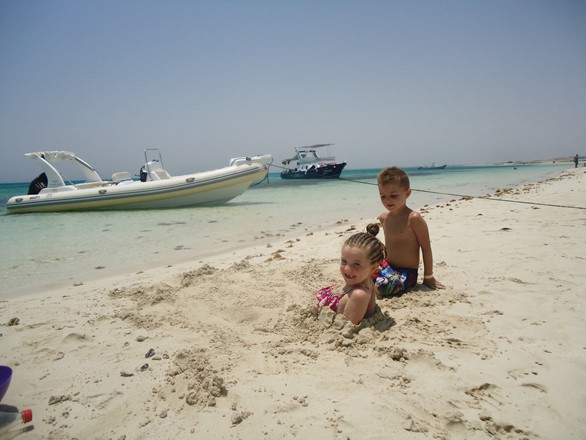 islands trip by private speedboat in Hurghada