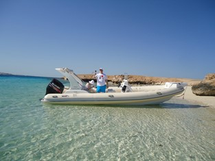 Islands trip by speedboat Hurghada