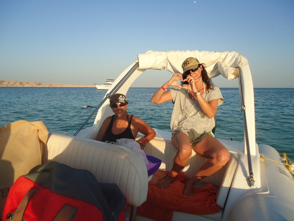 amazing sunset views with your private speedboat trip